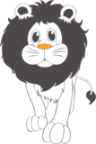 Muursticker leeuw | Muur & Stickers