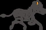 Muursticker zebra | Muur & Stickers
