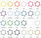 Kleuren muursticker Nijntje sterren   muurenstickers.nl