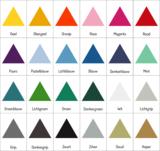 Kleuren muursticker driehoek | Muur & Stickers