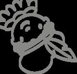Raamstickers Sint en Piet | Muur & Stickers