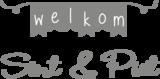 Raamstickers Sinterklaas en Fijne feestdagen | Muur & Stickers