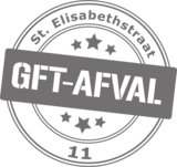 Containersticker stempel GFT-afval | Muur & Stickers