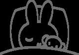 Muursticker Nijntje slaapt | Muur & Stickers