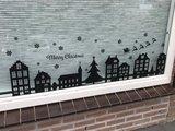 Raamsticker Kerst | muurenstickers.nl