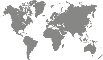 SALE | Muursticker 'Wereldkaart'