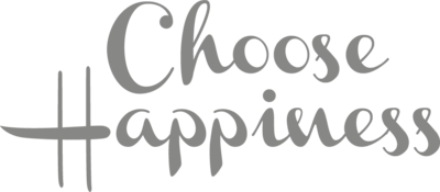 Muursticker 'Choose happiness'