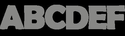 Containersticker hoofdletters | Muur & Stickers