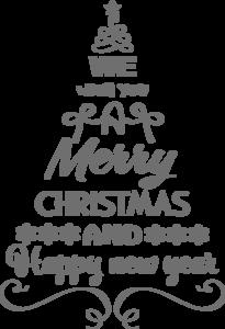 Raamsticker kerstboom | Muur & Stickers